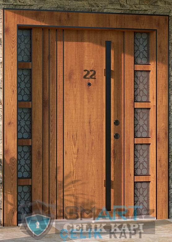 Kompozit villa giriş kapısı özel tasarım villa kapısı modelleri villa giriş kapıları-min