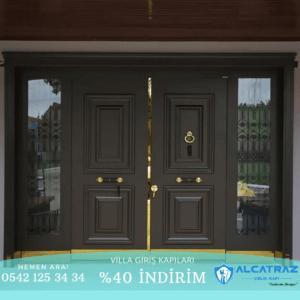 Bodrum Villa Kapısı Modelleri İndirimli Villa Kapıları Özel Tasarım Villa Giriş Kapısı Modelleri Villa Kapıları Alcatraz Çelik Kapı 14