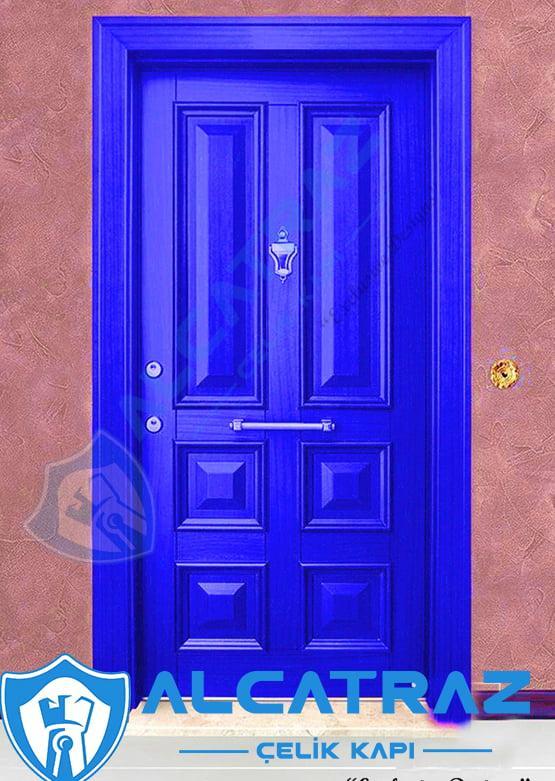 Mavi Çelik Kapı Özel Tasarım Kapı Modelleri Kapı Fiyatları