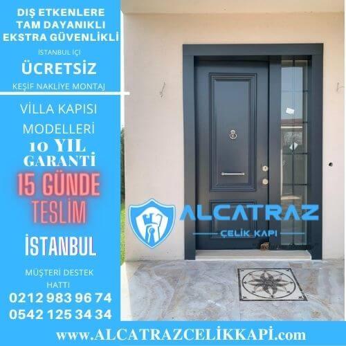 İstanbul villa giriş kapıları villa kapısı modelleri indirimli villa kapı fiyatları kompozit villa kapısı