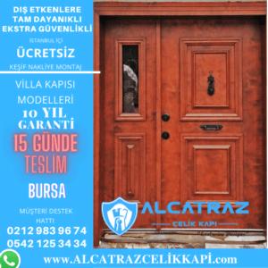 bursa villa giriş kapıları villa kapısı modelleri indirimli villa kapı fiyatları kompozit villa kapısı