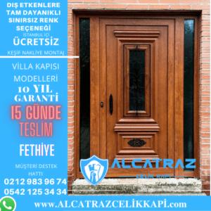 fethiye villa giriş kapıları villa kapısı modelleri indirimli villa kapı fiyatları kompozit villa kapısı
