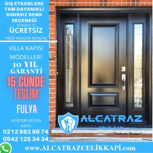 fulya villa giriş kapıları villa kapısı modelleri indirimli villa kapı fiyatları kompozit villa kapısı