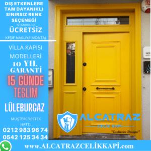 lüleburgaz villa giriş kapıları villa kapısı modelleri indirimli villa kapı fiyatları kompozit villa kapısı
