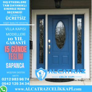 sapanca villa giriş kapıları villa kapısı modelleri indirimli villa kapı fiyatları kompozit villa kapısı