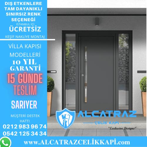 sarıyer villa giriş kapıları villa kapısı modelleri indirimli villa kapı fiyatları kompozit villa kapısı
