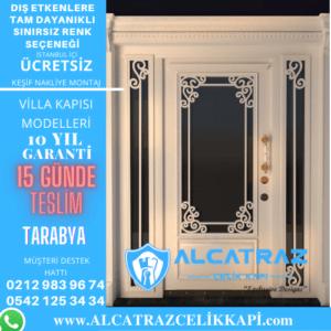 tarabya villa giriş kapıları villa kapısı modelleri indirimli villa kapı fiyatları kompozit villa kapısı