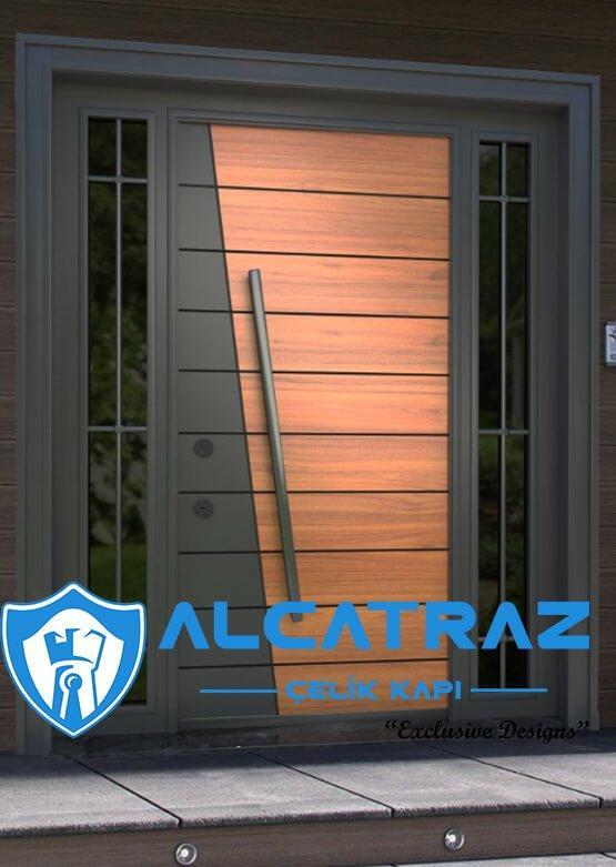 villa kapısı yeni sezon kompak villa kapıları kompozit villa giriş kapısı camlı dış kapı modelleri
