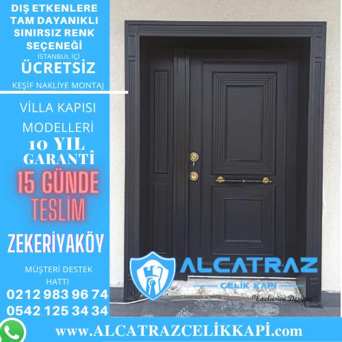 zekeriyaköy villa giriş kapıları villa kapısı modelleri indirimli villa kapı fiyatları kompozit villa kapısı