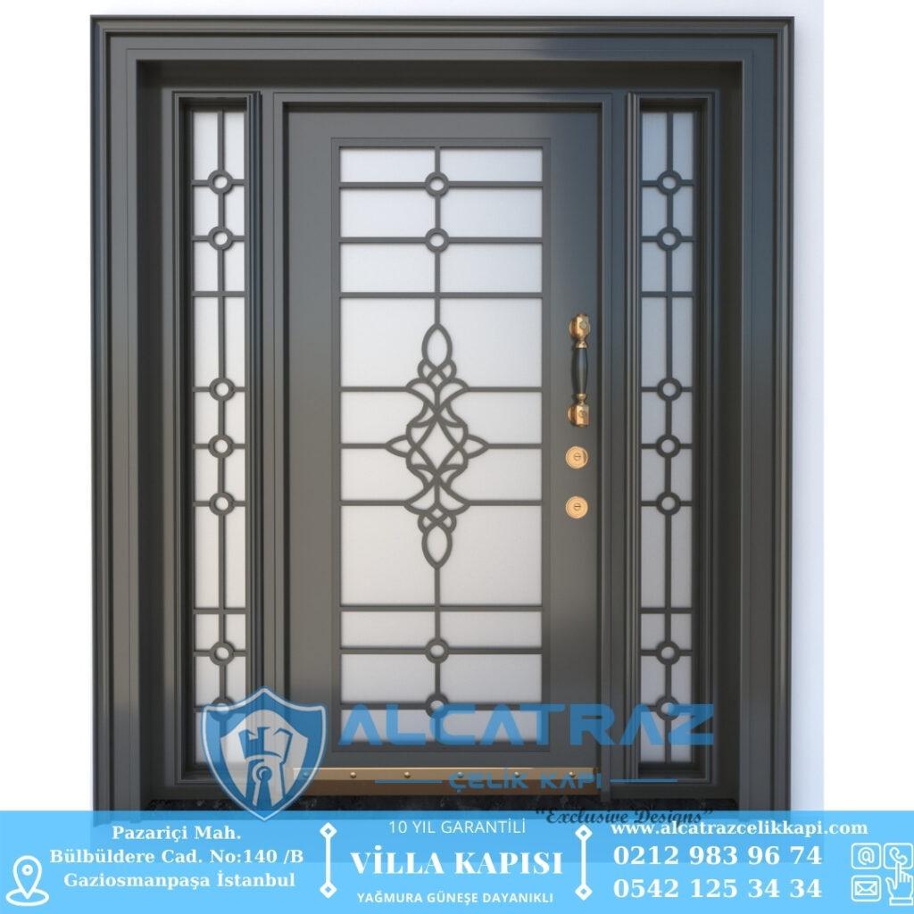 Balıkesir Villa Kapısı Modelleri Villa Giriş Kapısı İstanbul Villa Kapıları Alcatraz Çelik Kapı (1)