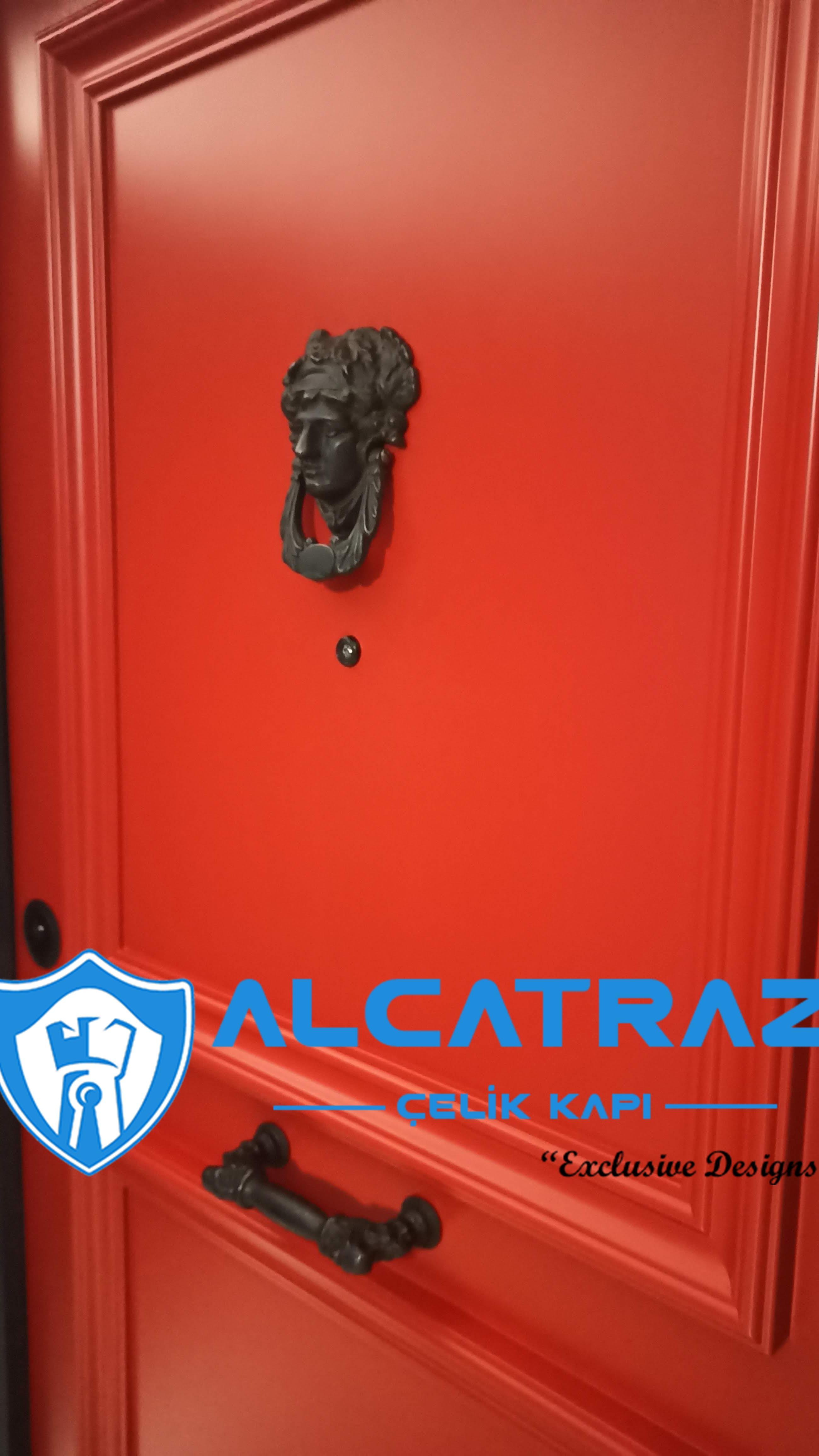 Lüks Çelik Kapı Villa Kapısı Klasik Özel Tasarım Kompozit Çelik Kapı Modelleri Alcatraz Çelik Kapı özel ölçü