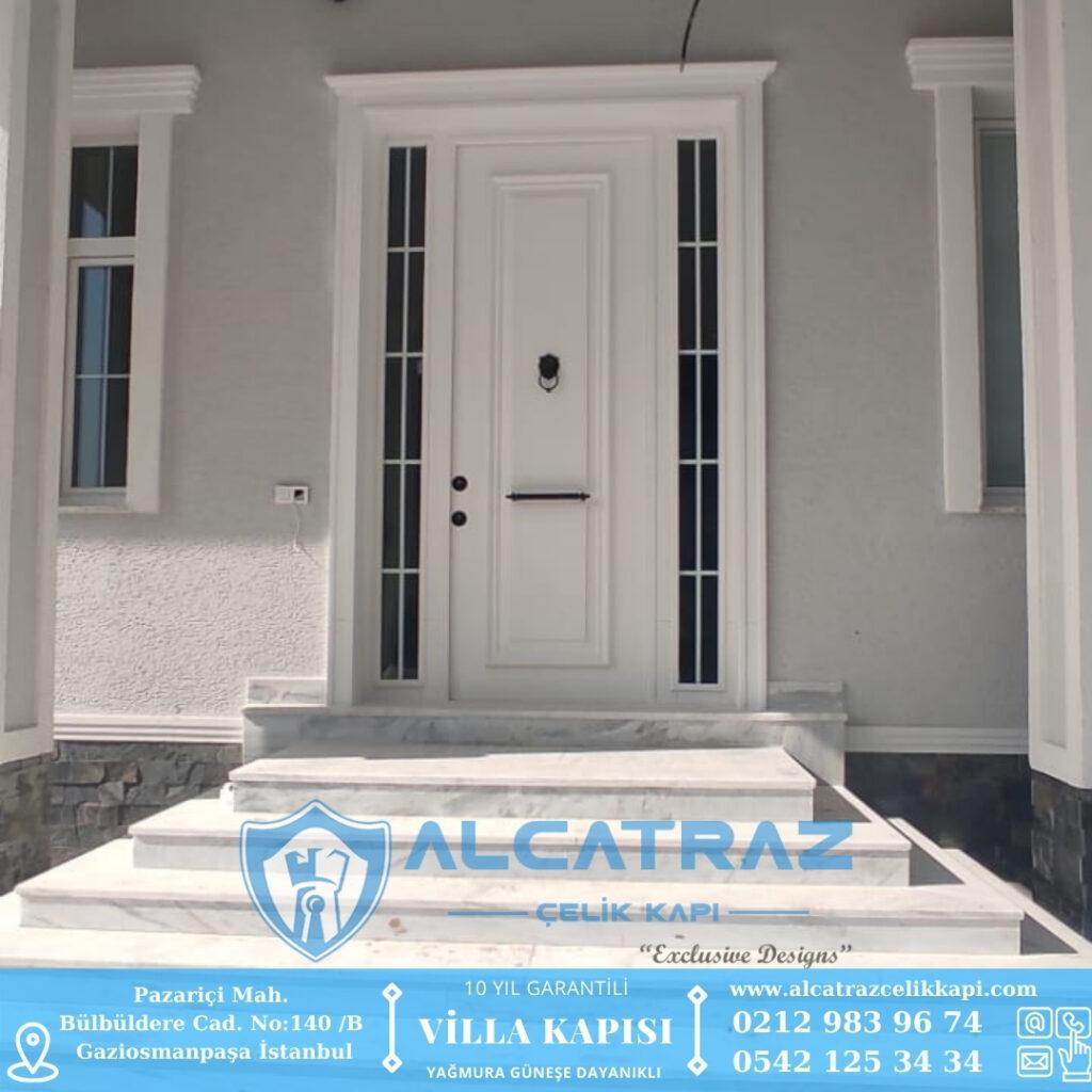 Üsküdar Villa Kapısı Modelleri Villa Giriş Kapısı İstanbul Villa Kapıları Alcatraz Çelik Kapı